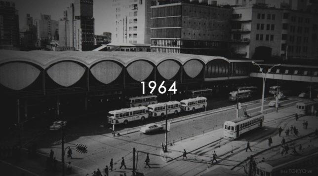 1964 TOKYO VR wa minna de tsukuru Timemachine