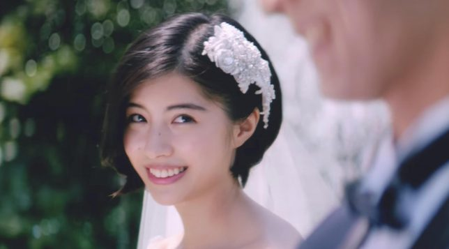 ゼクシィ「私は、あなたと結婚したいのです」噴水篇