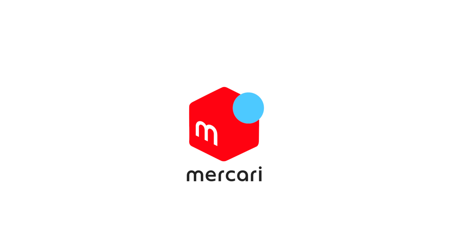 Mercari NEW LOGO MOTION